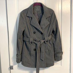 J2 Gray Pea Coat